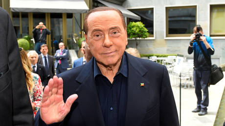 FILE PHOTO: Silvio Berlusconi, photographed on May 23, 2019. © REUTERS/Massimo Pinca