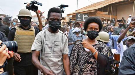 Ugandan presidential candidate and singer Robert Kyagulanyi Ssentamu, known as Bobi Wine, in Kampala, Uganda, (FILE PHOTO) ©  REUTERS/Abubaker Lubowa