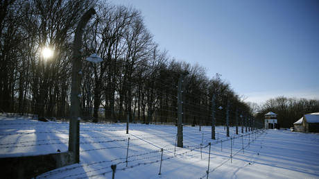 FILE PHOTO: Picture shows he former Nazi concentration camp Buchenwald near Weimar, Germany, on January 27, 2017.