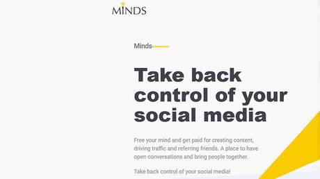 © Minds.com/screenshot