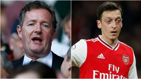Piers Morgan hit out at departing Arsenal star Mesut Ozil. © Reuters