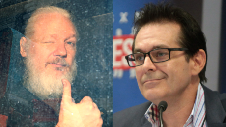 Julian Assange (L) and Jimmy Dore (R) © Reuters / Hannah McKay and Wikipedia