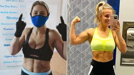 Fighting fit: Paige VanZant