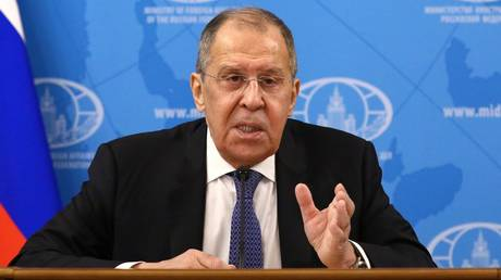 Navalny arrest being used as tool to distract from crises in West – Russian Foreign Minister Lavrov