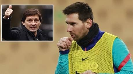 PSG official Leonardo admitted Messi could be a target. © Reuters