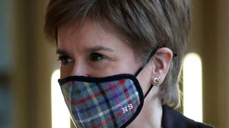Scottish First Minister Nicola Sturgeon (FILE PHOTO) © Andrew Milligan/Pool via REUTERS