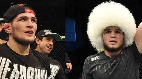 Umar Nurmagomedov won nine years to the day after his cousin, Khabib, also made a victorious UFC debut