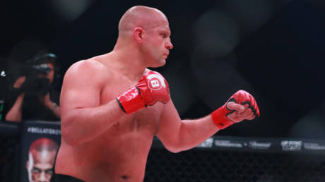 Russian MMA veteran Fedor Emelianenko has reportedly been hospitalized by Covid-19 © Dave Mandel / USA Today Sports via Reuters