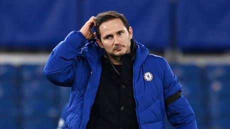 Sacked: Chelsea boss Frank Lampard. © Reuters / Andy Rain