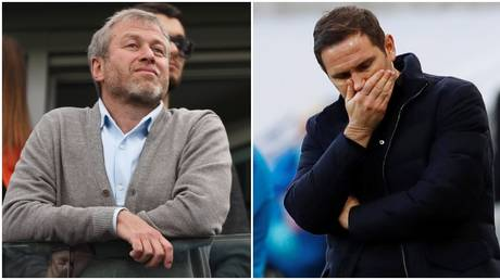 Lampard has become Abramovich's latest managerial casualty. © Reuters