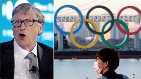 Bill Gates shared his thoughts on the Tokyo Games. © Reuters