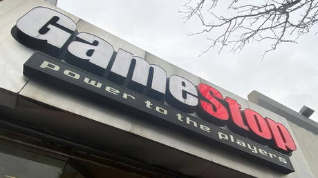 Is this what GameStop had in mind by 'Power to the players'? January 27, 2021 file photo.
