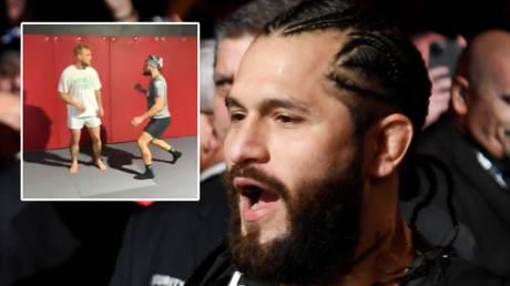UFC star Jorge Masvidal has helped YouTube sensation Jake Paul prepare for his boxing match with Ben Askren © Twitter / jakepaul | © Sarah Stier / USA Today Sports via Reuters