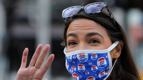 Congresswoman Alexandria Ocasio-Cortez (file photo) was really concerned about the Robinhood scandal... until she suddenly wasn't