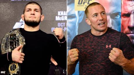 Could legends collide? Khabib Nurmagomedov has made no secret of his wish to face Georges St-Pierre