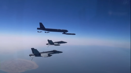 , US shows off nuclear-capable B-52 bombers on Iran's doorstep week after Biden's inauguration (VIDEO),