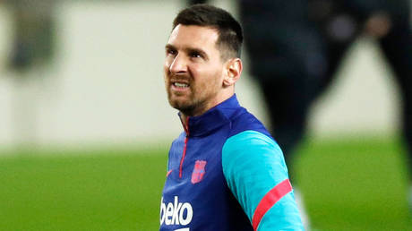 Net returns: Football icon Lionel Messi's contract is not worth a fraction of the drama his departure from Barcelona would cause