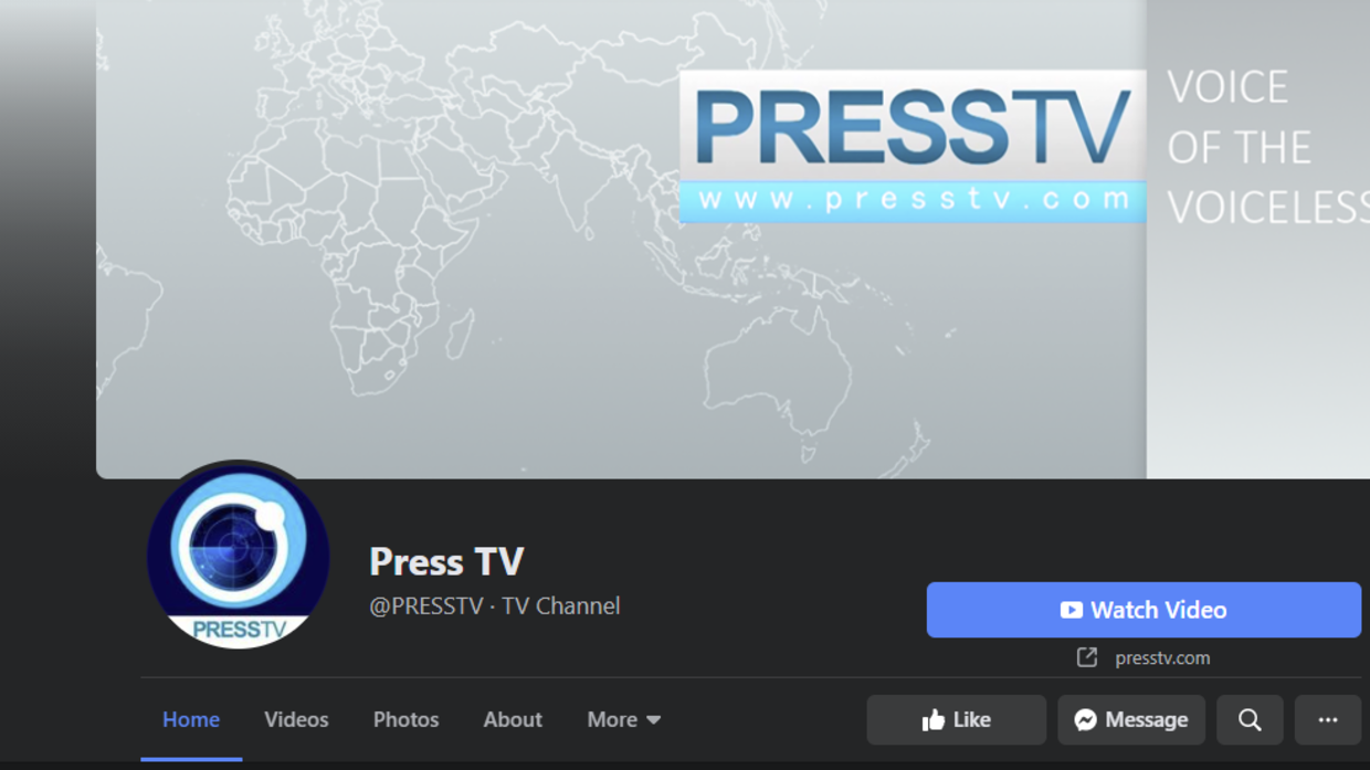 Facebook reinstates Press TV page with 4 million subscribers, hours after mysterious 'FINAL' deletion — RT World News