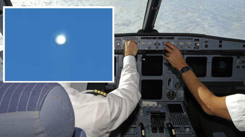 """Piloten einer pakistanischen Fluggesellschaft erfassen auf Video ein """"extrem helles UFO"""" mitten im Flug auf 10'000 Meter höhe (VIDEO)."""