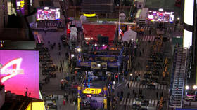 'It's like the Twilight Zone': Times Square set to be empty for New Year, with crowds BANNED for first time in over a century