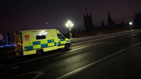 3 people injured in stabbing incident in central London, police & ambulances on scene (VIDEO)