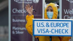 Philippines to ban US travelers as new coronavirus strain spreads