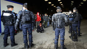 Showstopper: Illegal rave in France that started on New Year's Eve is finally brought to an end