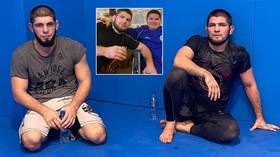 'I was glad to see you': Russian champ Nurmagomedov embraces fan and shares MMA training session with Dagestani UFC hopeful Aliev