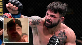 'Get help': Concern grows for UFC star Mike Perry after video post shows him bleeding heavily beside smashed door (GRAPHIC VIDEO)