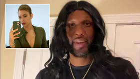 Ex-NBA champ denies drugs drove 'Black Jesus' film after accusing model ex of holding his social media passwords 'hostage' (VIDEO)