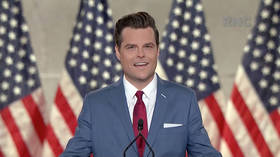 Cheers and boos as US Representative Gaetz tells House: 'At least today Dems didn't call to defund the police' (VIDEO)