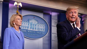 Betsy DeVos resigns post as education secretary, says Trump's 'rhetoric' fueled Capitol Hill riot