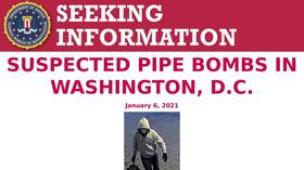 FBI offers $50k reward for information about suspected pipe bombs planted in DC amid Capitol unrest (PHOTO)