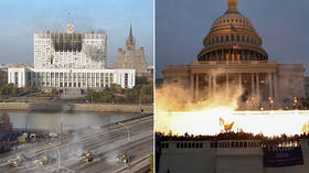 The parallels between the broken, failed & divided state of 1990s Russia and today's America are fascinating