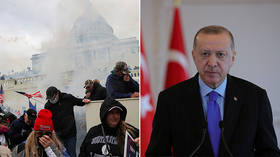 US unrest 'disgrace for democracy,' Turkey's Erdogan says, hopes 'peace' will return after Biden's inauguration