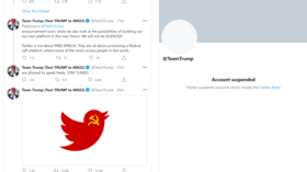 Twitter bans Trump campaign account as Reddit & Discord join Big Tech drive to purge president & supporters from online platforms
