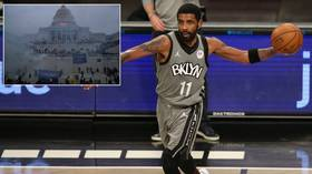 'Privileged AF': Fans fume after reports NBA star Kyrie Irving missed games because he was 'upset' over Capitol disorder