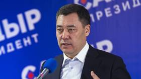 Ex-con Japarov elected President of Kyrgyzstan in landslide, says Russia is 'main strategic partner' & pledges to fight corruption