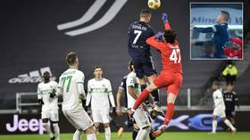 Air Force Ron: Cristiano Ronaldo stuns fans with gravity-defying leap as he sets ANOTHER goalscoring landmark (VIDEO)