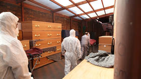 UK turns to emergency mortuary amid overwhelming surge in Covid-19 cases and fatalities
