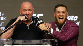 'We were in a really bad place': Dana White says he has mended fences with Conor McGregor after last year's fractious fallout