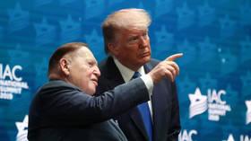 Liberals celebrate death of Trump mega donor, casino mogul Sheldon Adelson