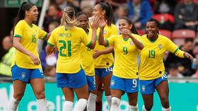 'Feminists will go crazy': Backlash over pay row as Brazil women's football team lose 6-0 to under-16s male side in hour-long game