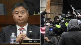 'Correction of the day': CNN says congressman fled office with CROWBAR amid Capitol riot, clarifies it was actually an energy bar