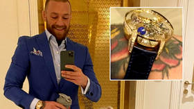 'What a tool': UFC's Conor McGregor savaged over 'tacky and classless' X-rated $2mn watch in spending spree ahead of Poirier fight