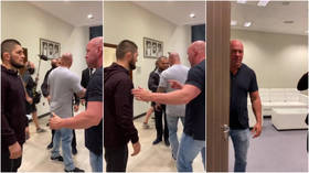 'Here we go': Dana White sends UFC fans into a frenzy by posting footage as he enters talks with champ Khabib Nurmagomedov (VIDEO)
