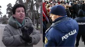 Latvijā notiek kampaņa Krievijas mediju darbinieku dehumanizēšanai, liecina medītā žurnālista teiktais RT.