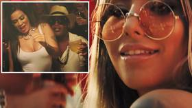 Ronaldinho parties with scantily-clad women as Brazilian star rebounds in style from jail stint (VIDEO)