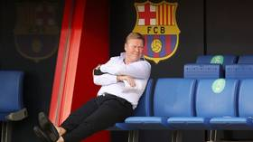 'I'm fine, and happy': Ronald Koeman puts on a brave face after admitting Barca are UNLIKELY to sign players in January window