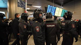 Associates of returning opposition figure Navalny among several detained at Moscow airport Vnukovo on Sunday